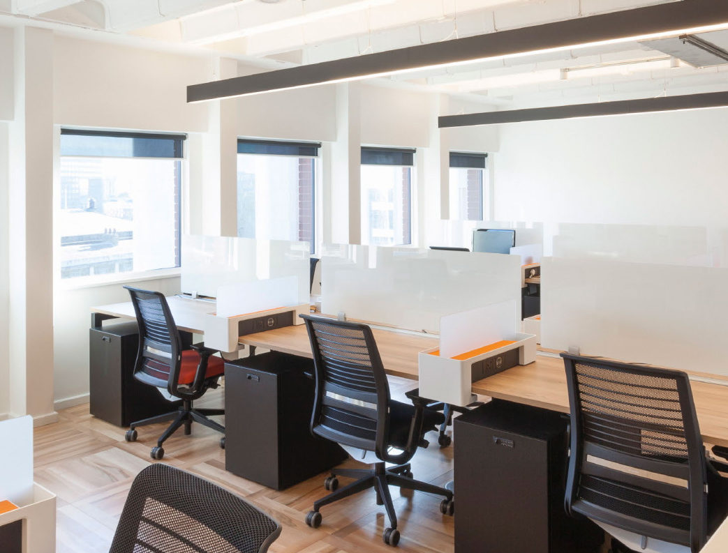 co-working private desks at Us & Co Monument