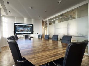 Us&co Boardroom - perfect for private meetings