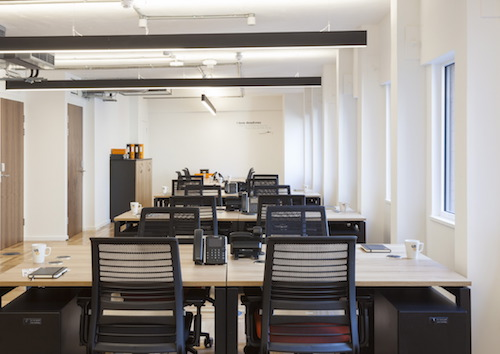 Us&Co professional coworking hotdesks in London