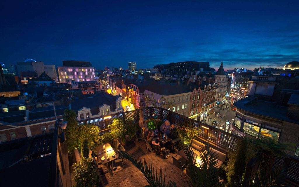 Century Roof Terrace - a great summer party venue with a spectacular london view
