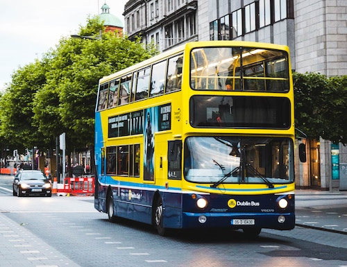 Dublin D2 Usco Yellow Bus