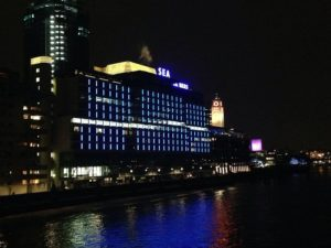 Sea Containers Building, on the London South Bank At Night (1)