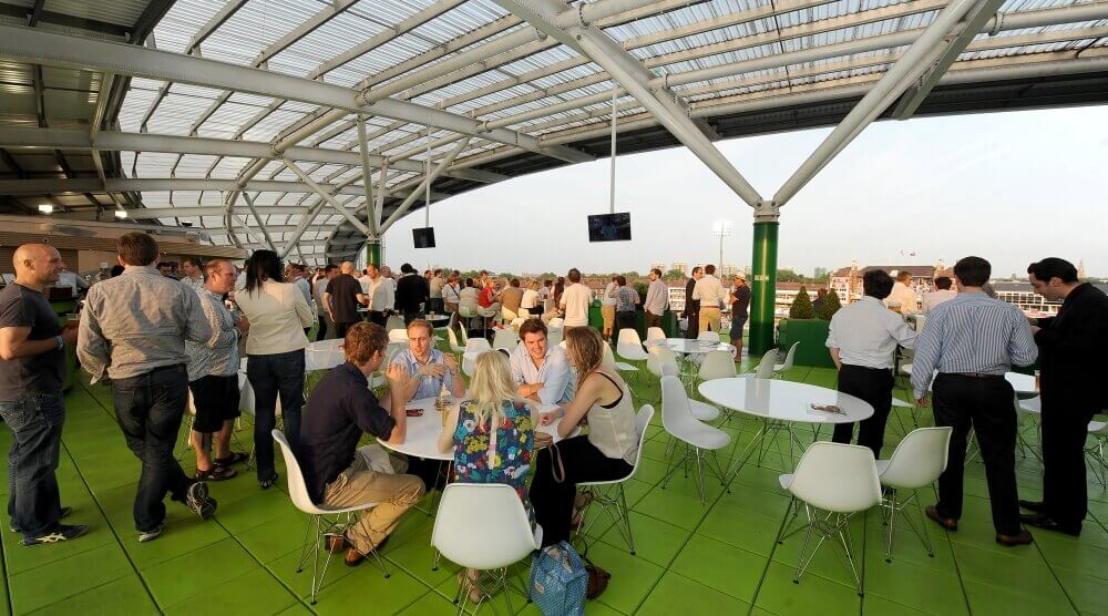 Corinthian Roof Terrace - summer party event venues in london with an amazing view
