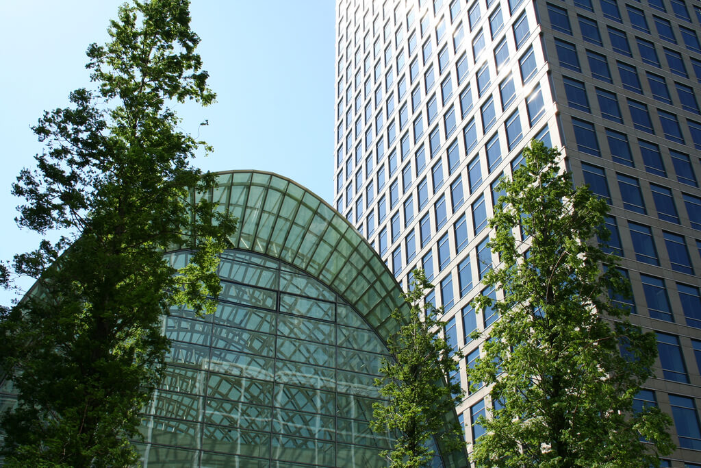 East Wintergarden in Canary Wharf, a great summer party venue