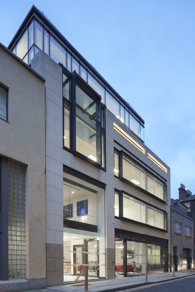 Front Of Building Us&co Dublin