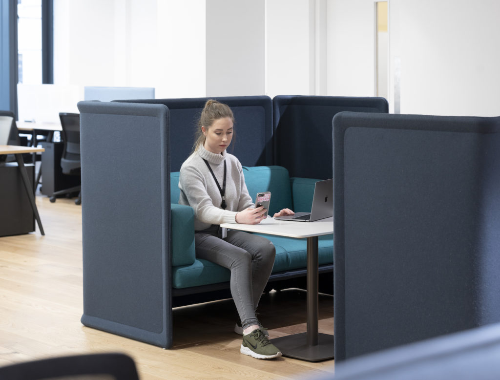 private coworking dedicated hot desks in dublin
