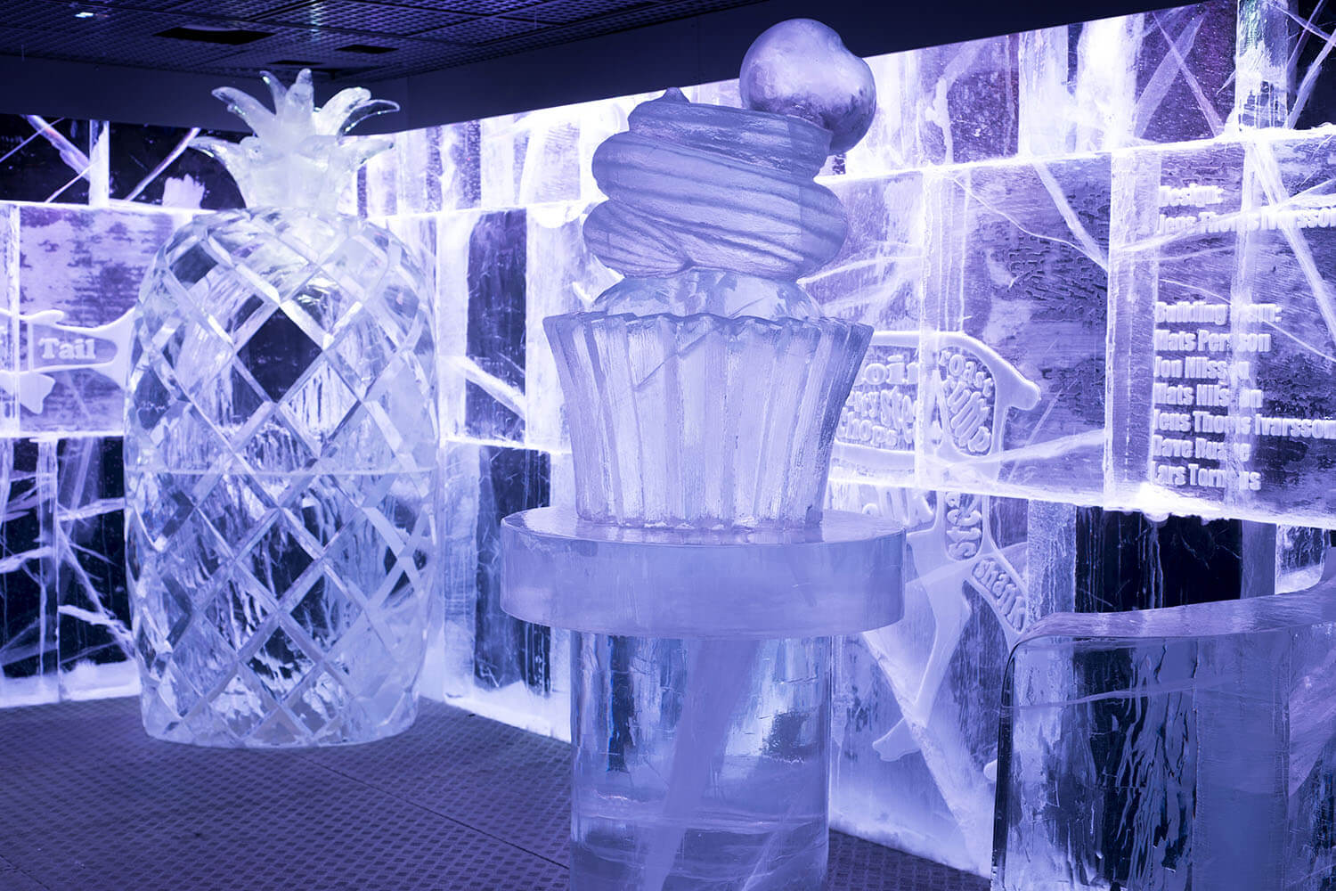 Icebar London for a frosty christmas party near Piccadilly Circus