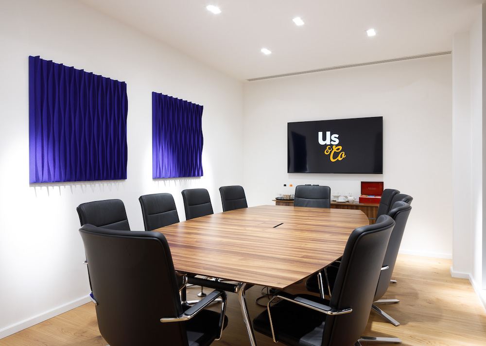 Us&co Stratford 10 Person Boardroom