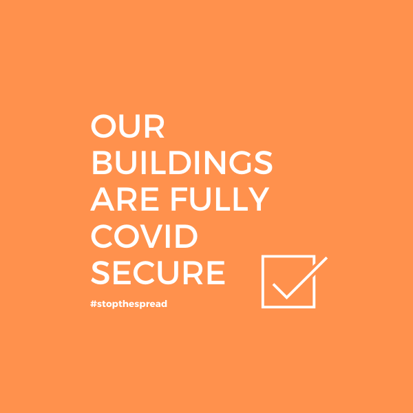 Copy Of Our Buildings Are Covid 19 Secure